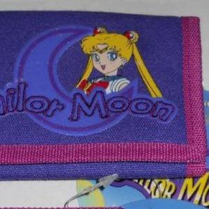 2000 Anime Sailor Moon Tri-Fold Wallet